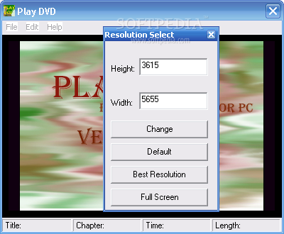 how to get chapter video from a dvd disc