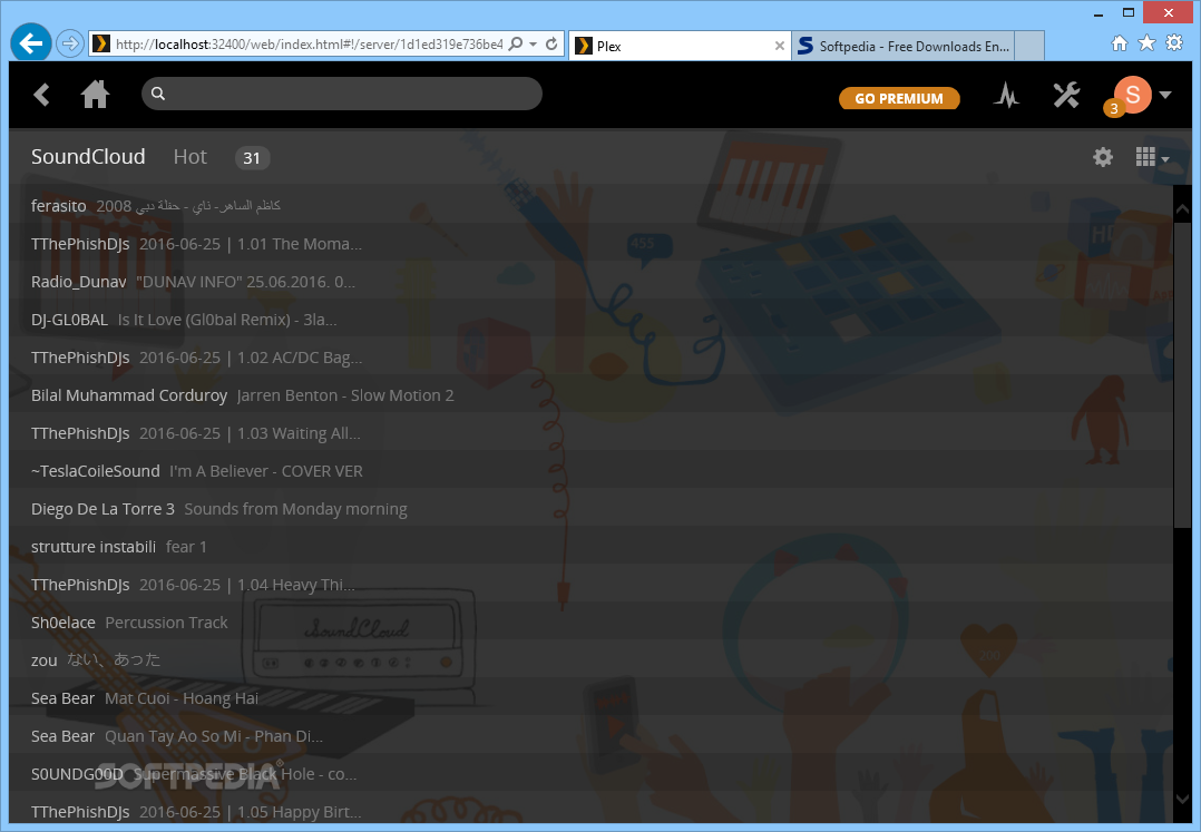 Download Plex Media Server 1 16 5 1554