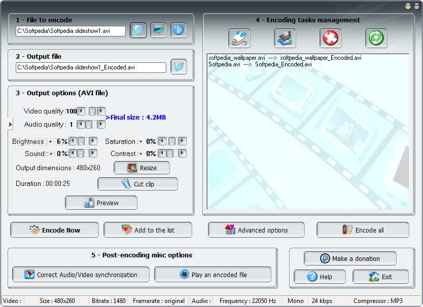 Download PocketDivXEncoder 0.4.5 Beta Windows