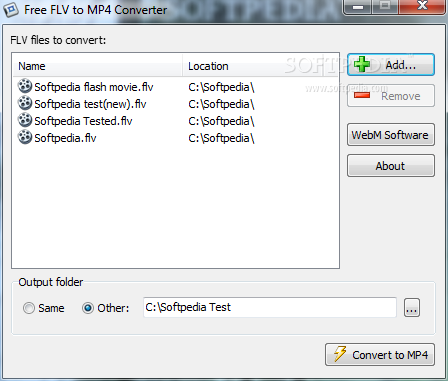 Download Free FLV to MP4 Converter 1 0