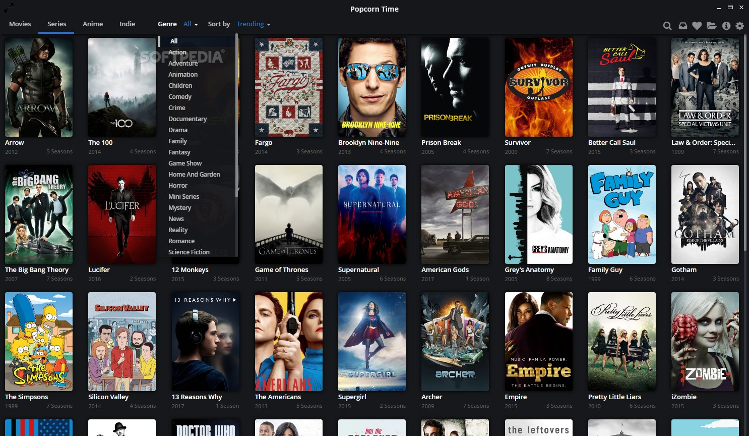Popcorn Time Windows 10