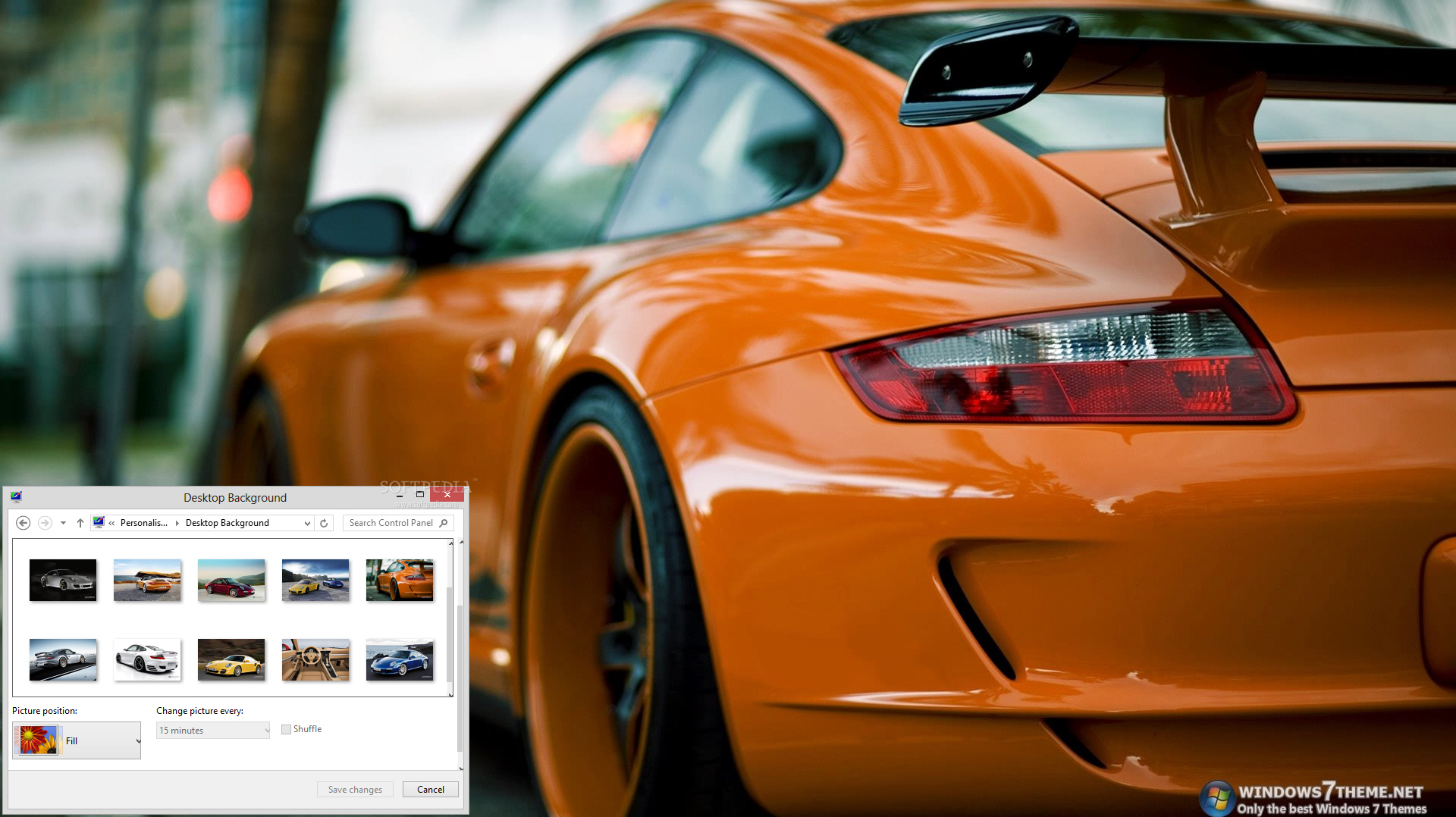 Porsche 911 Windows 7 Theme Will Provide Fans And
