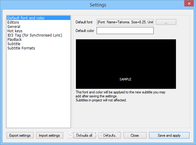 Download Portable AHD Subtitles Maker Professional Edition