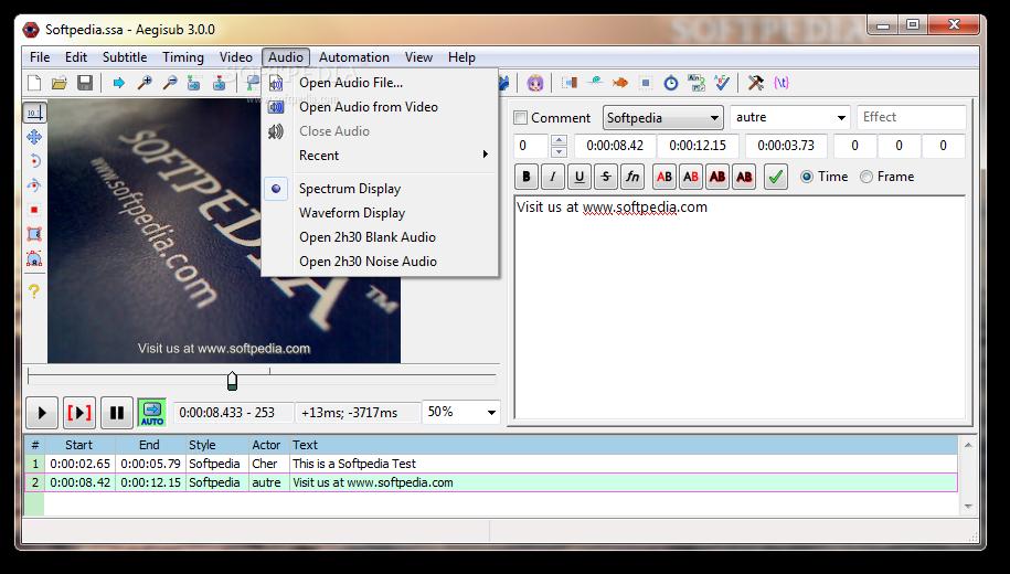 Download Portable Aegisub 3 2 2