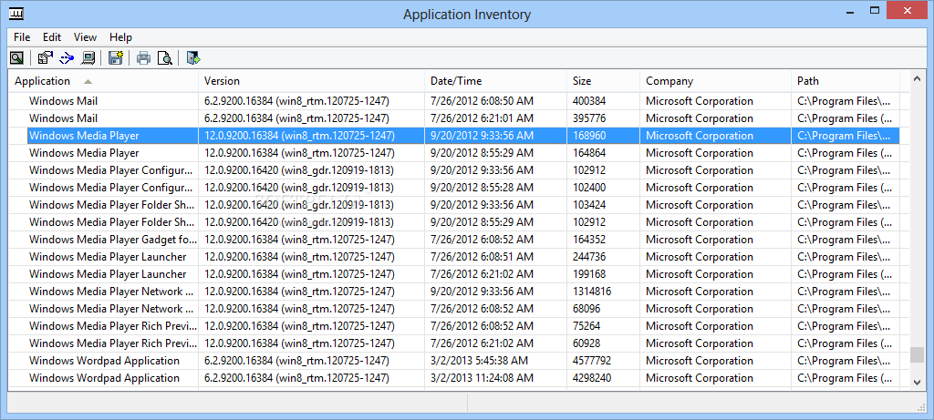 Download Portable Application Inventory 3 0
