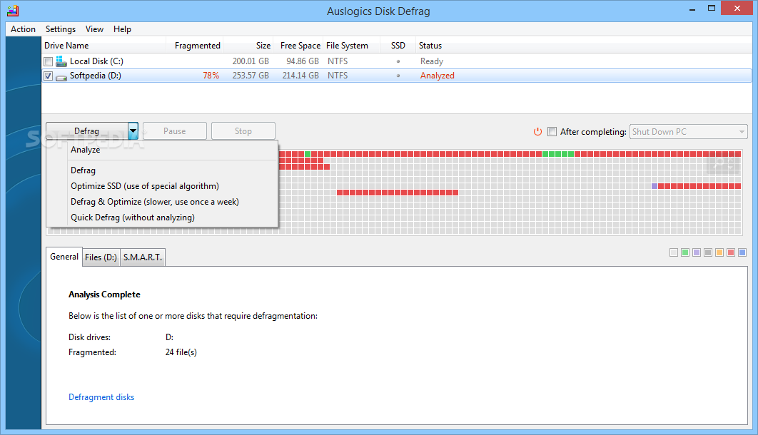 defrag freeware portable