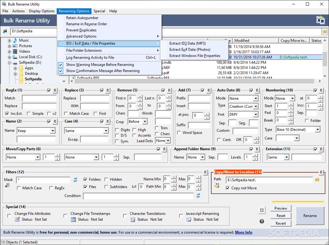 Bulk Rename Utility Software Mac