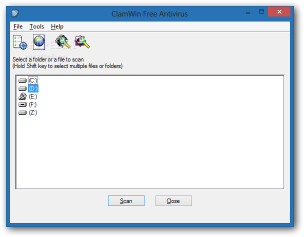 Portable clamwin free antivirus download for Free portable