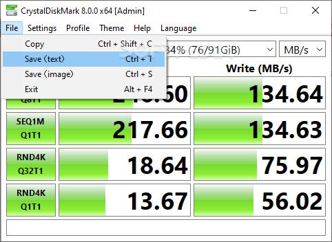 Download Portable CrystalDiskMark 6 0 2 / 6 1 0 Beta 2