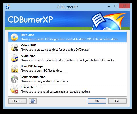 CDBURNERXP WINDOWS 10 GRATUIT TÉLÉCHARGER