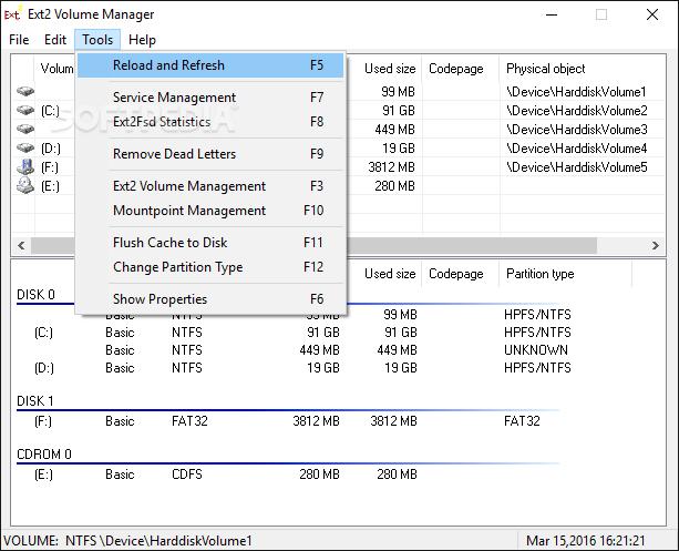 Download Portable Ext2 Volume Manager 0 69 (November 2, 2017)