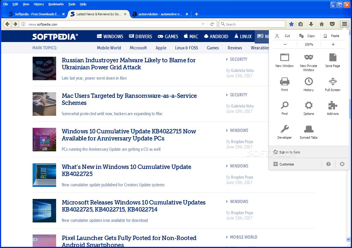 Download Portable Firefox ESR 60 8 0 / 52 9 0