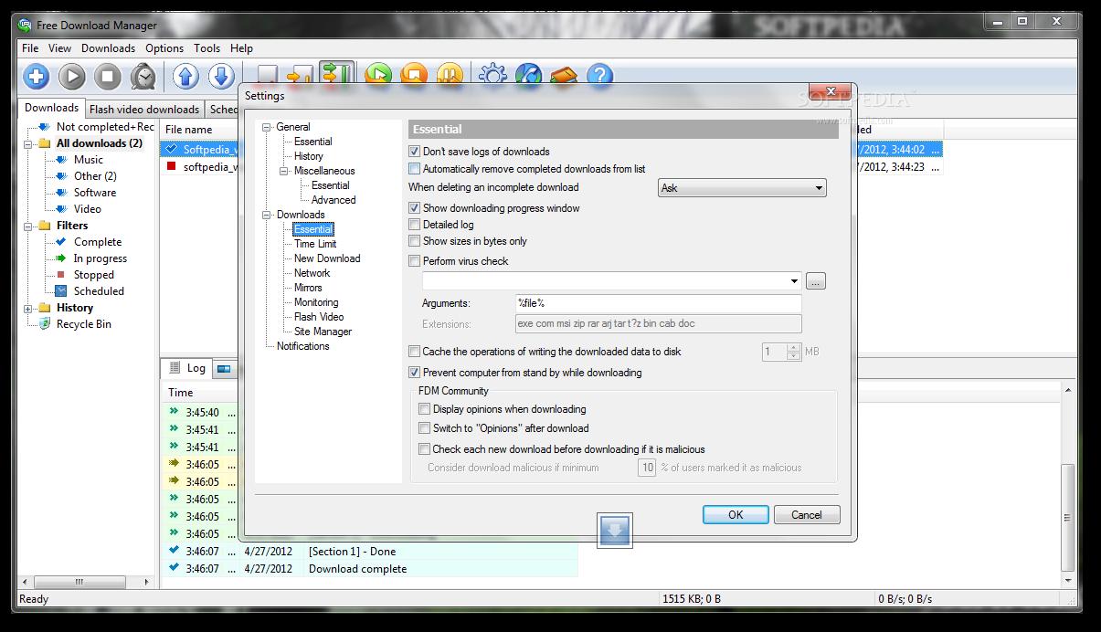 virus free download manager