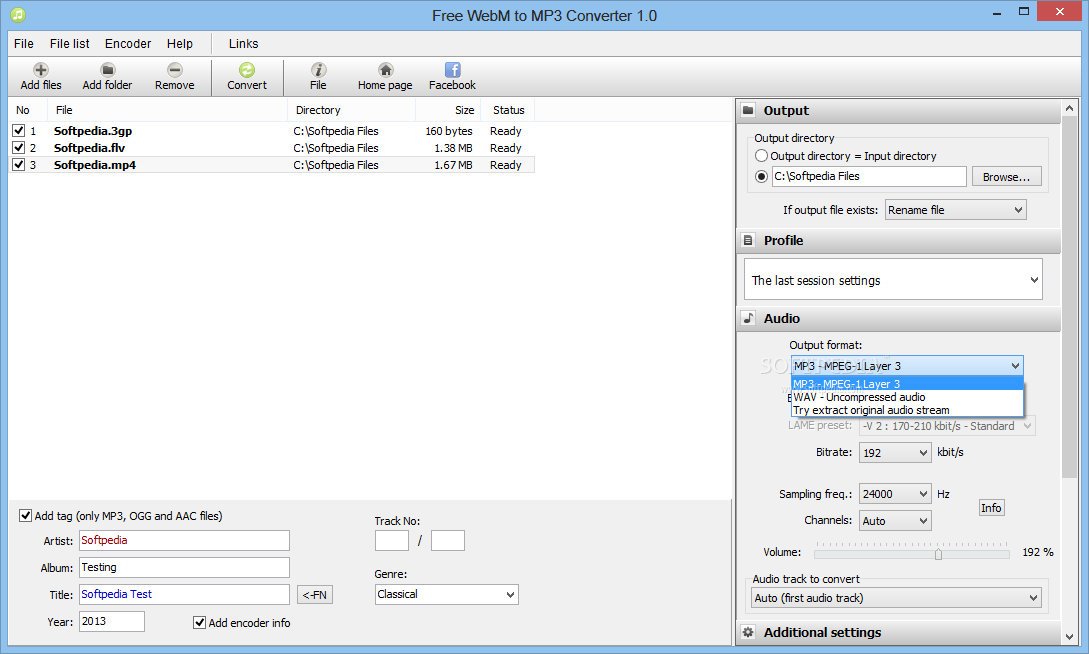 Download portable free webm to mp3 converter 1 2 for Free portable