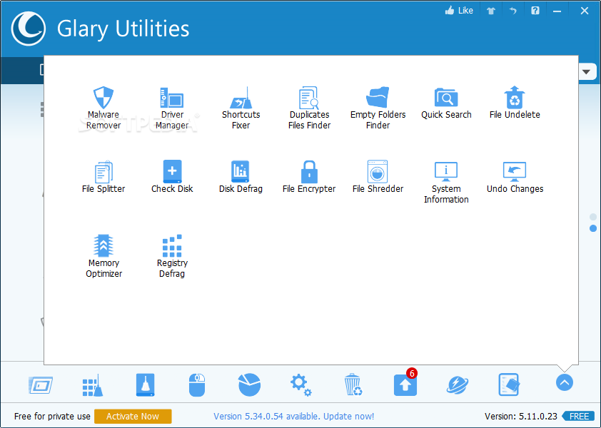 Portable Glary Utilities screenshot 4