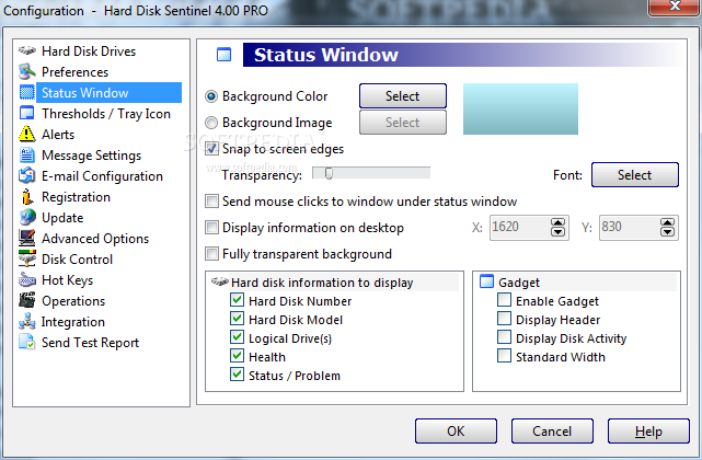 Portable Hard Disk Sentinel Professional screenshot 17