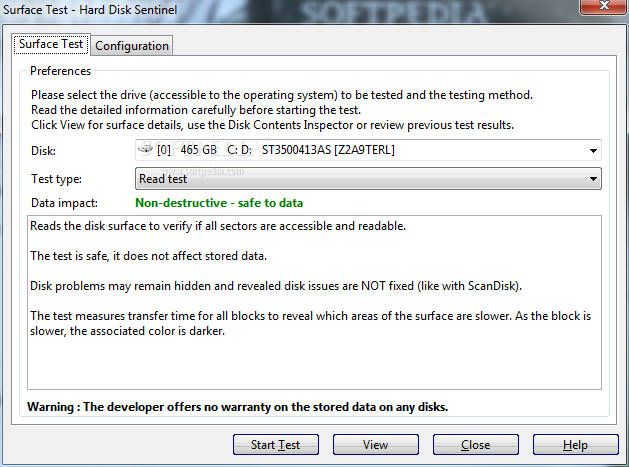 Portable Hard Disk Sentinel Professional screenshot 8