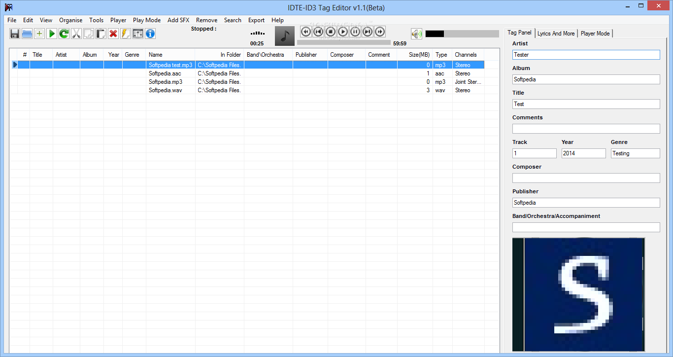 mp3 tag editor 64 bit windows 7