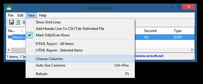 mail passview gratis