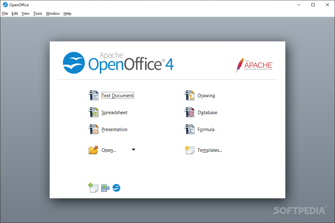 Download Portable OpenOffice org 4 1 6