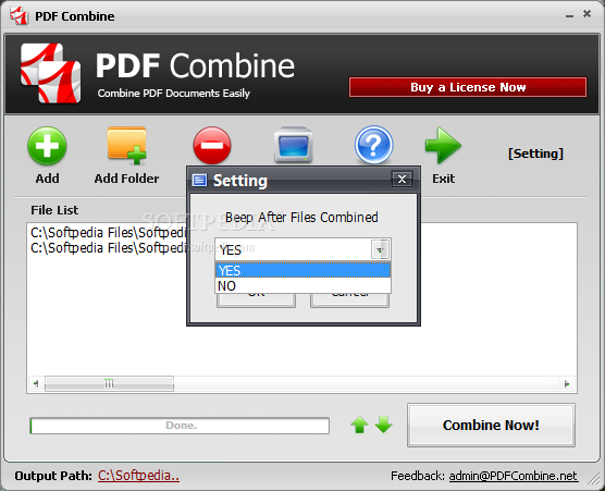 how to join pdf files into one mac