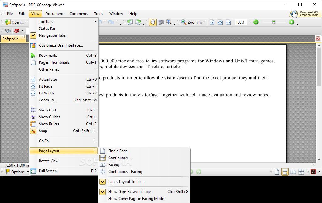 Download Portable PDF-XChange Viewer 2.5.322.10