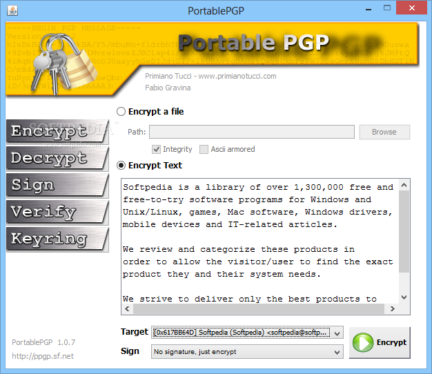 Pgp encryption software portable - Siacoin price 2020