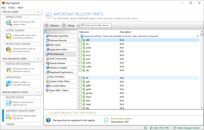 Download Portable Reg Organizer 8 30