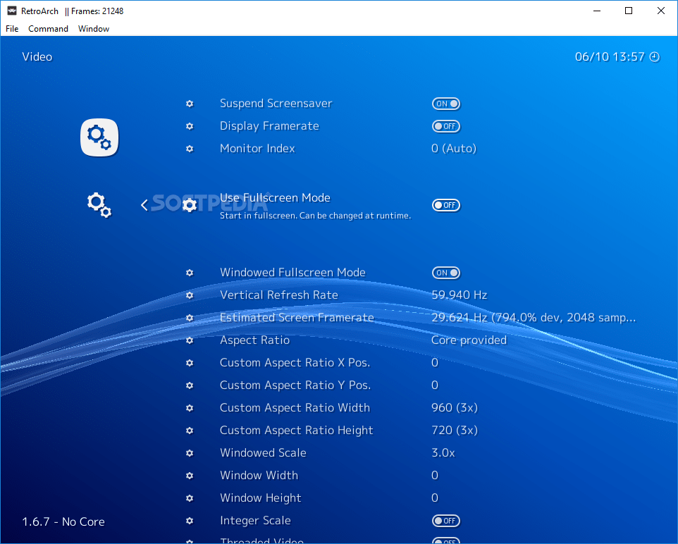 Download Portable RetroArch 1 7 7 / 2019-08-11 Nightly