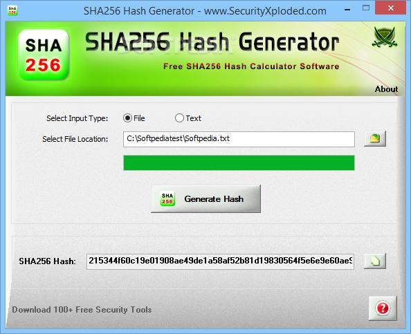Download Portable SHA256 Hash Generator 1 5