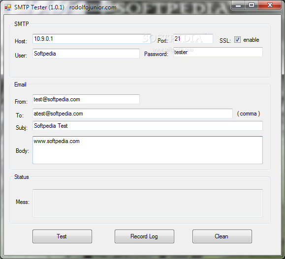 Download Portable SMTP Tester 1 0 1