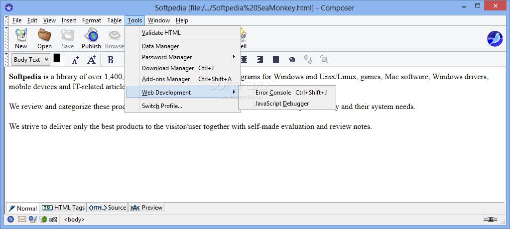 Download Portable SeaMonkey 2 49 5 / 2 51a2 Aurora / 2 58a1