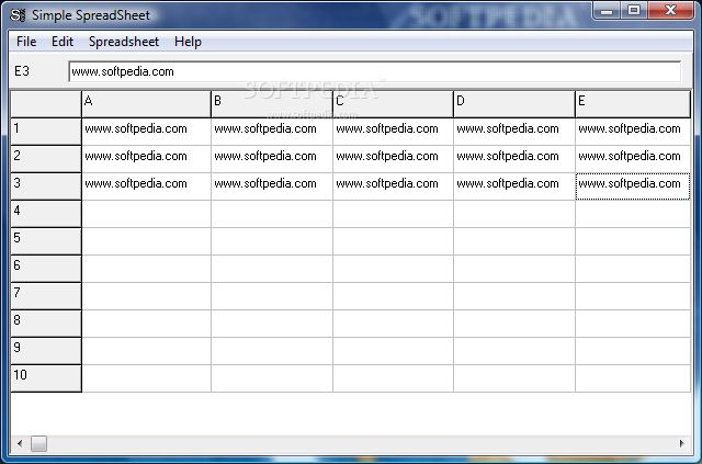 download portable simple spreadsheet 13