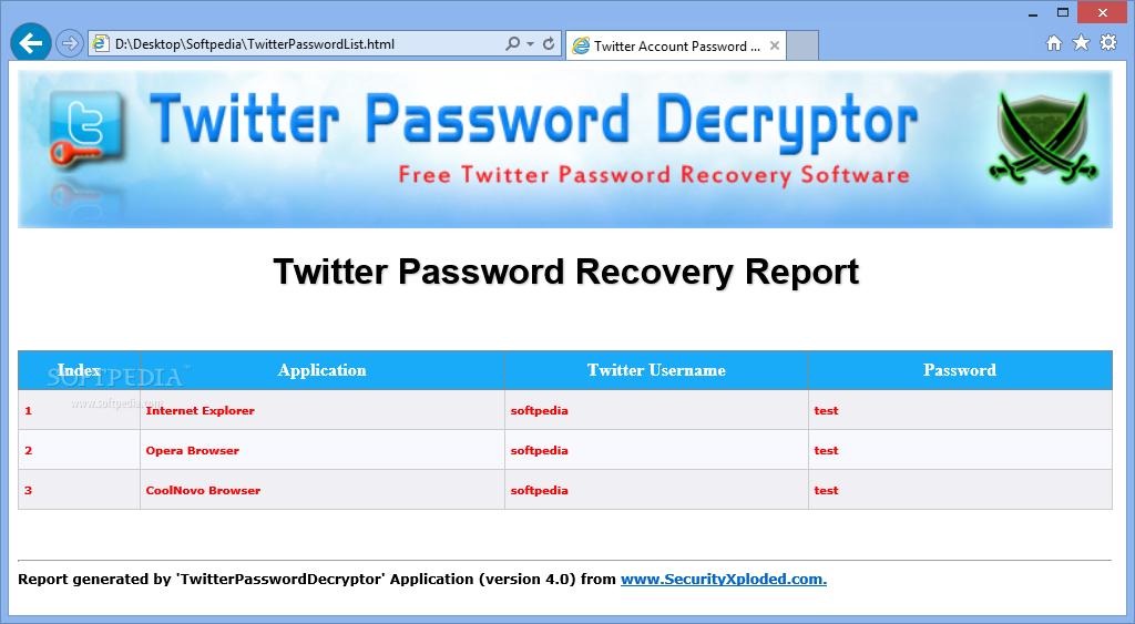 download twitter password decryptor for mac