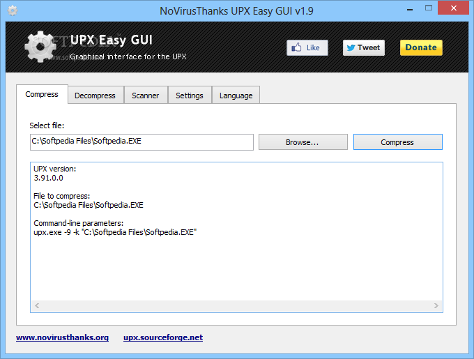 Download Portable UPX Easy GUI 2 1