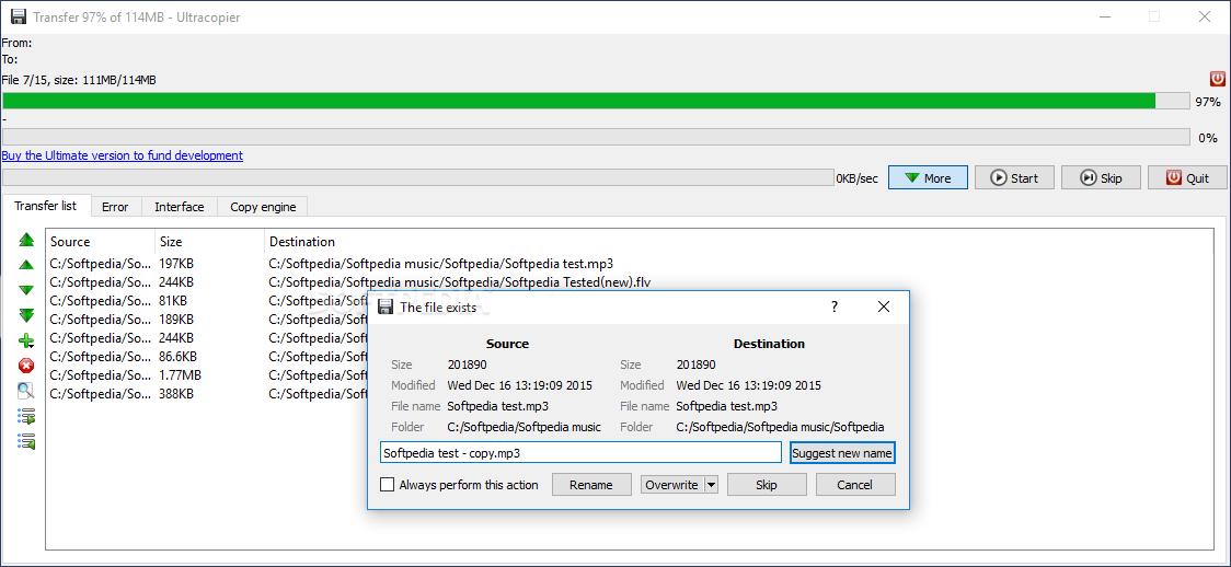 Download Portable Ultracopier 1.6.1.3