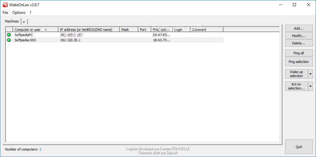 Download Portable WakeOnLan 3 9 7