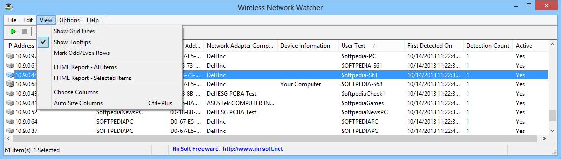 wireless network watcher free download for windows xp