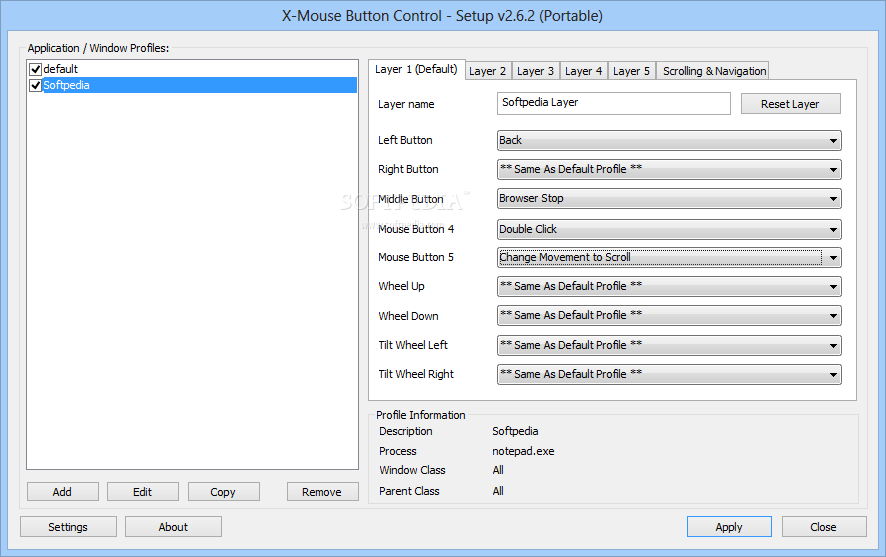 Download Portable X-Mouse Button Control 2 18 8