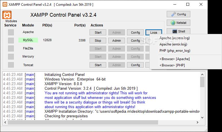 xampp php 5.6