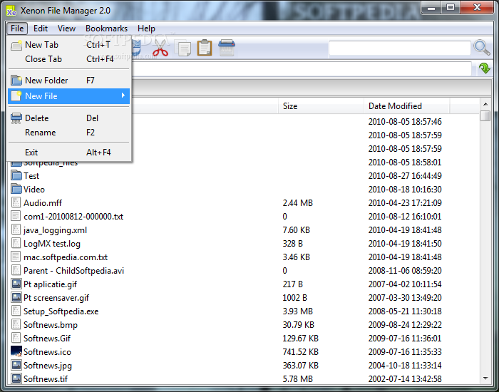 Download Portable Xenon File Manager 2 0 Beta 4 / 1 5 0 2