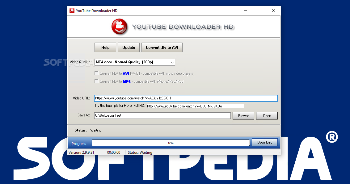 Download Portable Youtube Downloader HD 2 9 9 58
