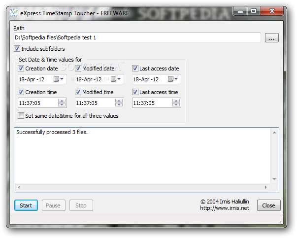 how to change timestamp on file mac