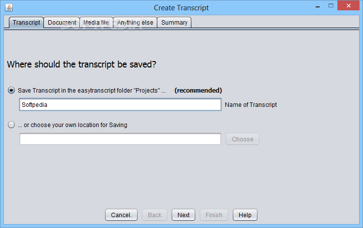 easytranscript