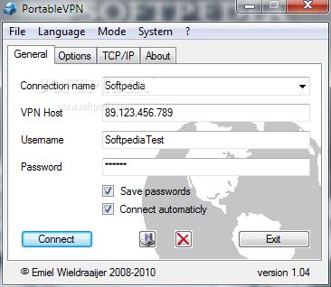 Client vpn portable