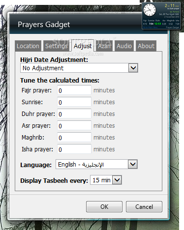 Download Prayers Gadget 4 3