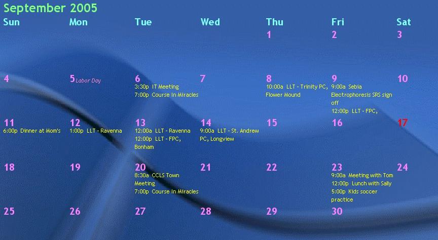 Desktop Calendar Windows 8 : Download presbycal desktop calendar
