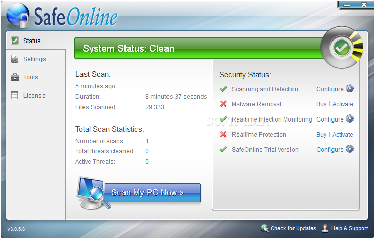 Prevx SafeOnline is one of the feature in Prevx 3.0, which has other extra