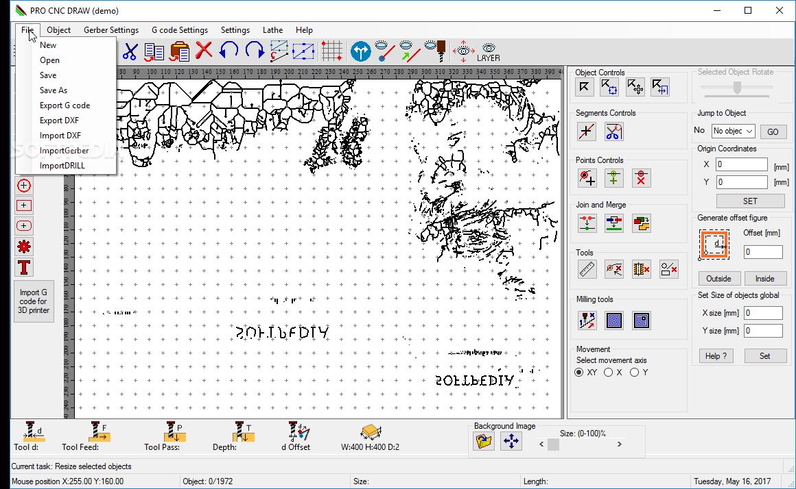 Download Pro CNC Draw 1 15a