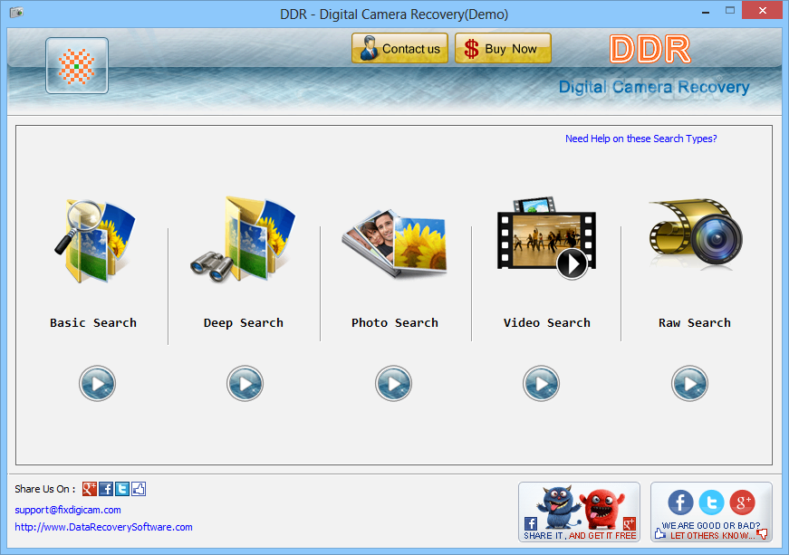 digital camera photo recovery software free download